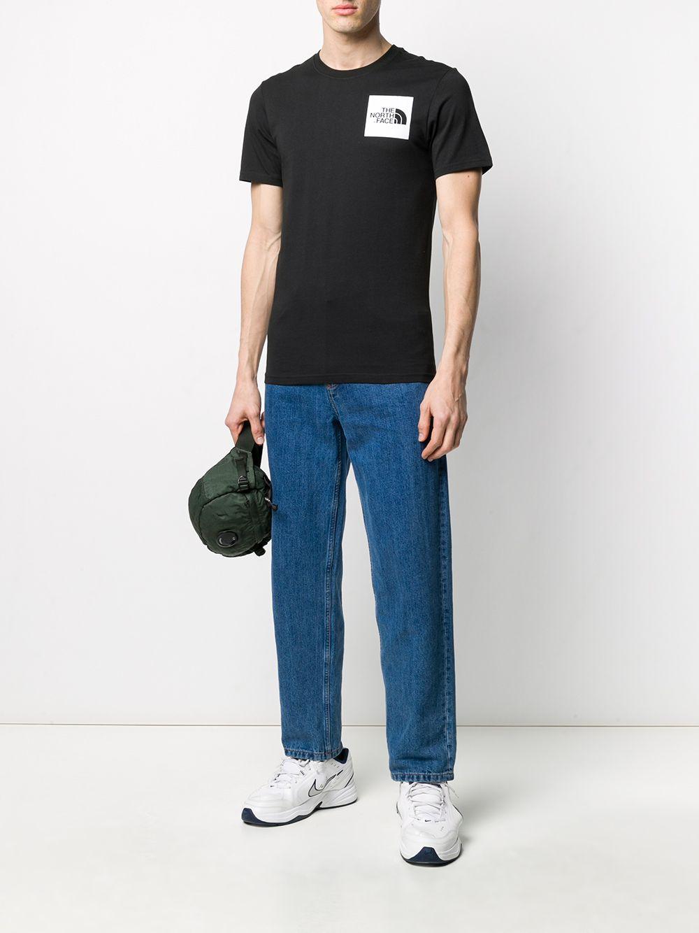 The North Face t-shirt con stampa logo uomo nero THE NORTH FACE | T-shirt | NF00CEQ5JK31