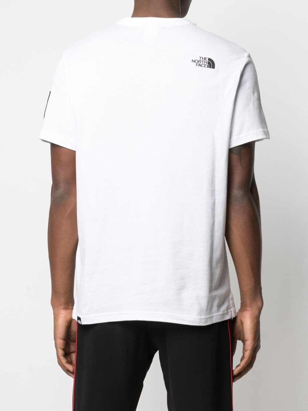 print logo t-shirt man white in cotton THE NORTH FACE | T-shirts | NF0A4M6NFN41