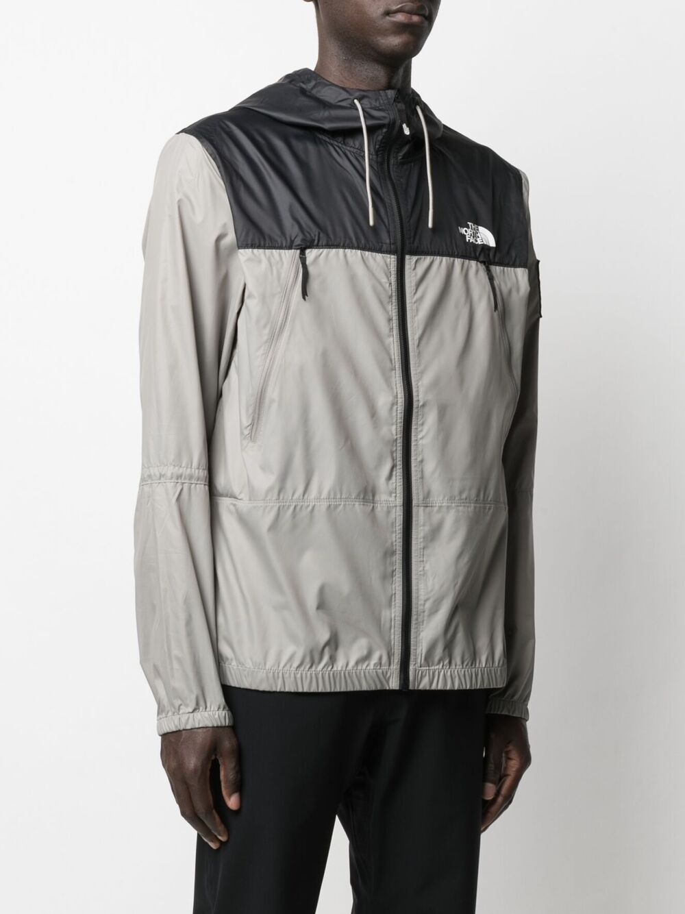 The North Face two tone hooded jacket man bicolor THE NORTH FACE | Jackets | NF0A55BRVQ81