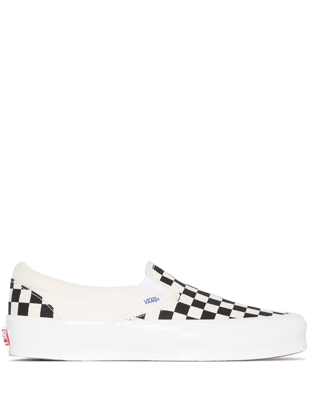 Vans Vault og classic slip on sneakers man black white VANS VAULT | Sneakers | VN0A45JKT0A1