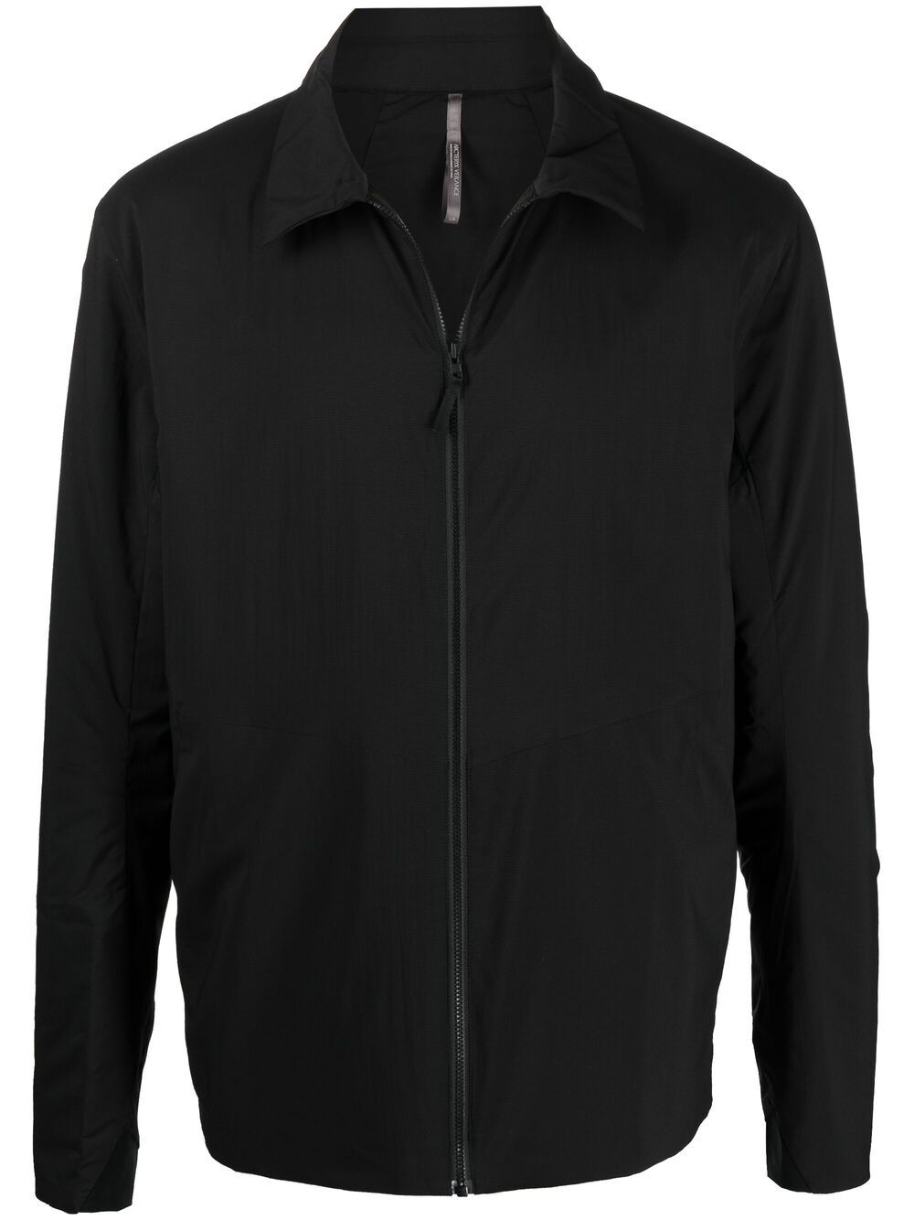 Giacca con zip nero uomo cotone VEILANCE | Giacche | 26957BLK