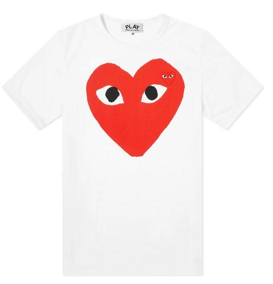 PLAY T-SHIRT COMME DES GARÇONS PLAY | T-shirts | P1T026A