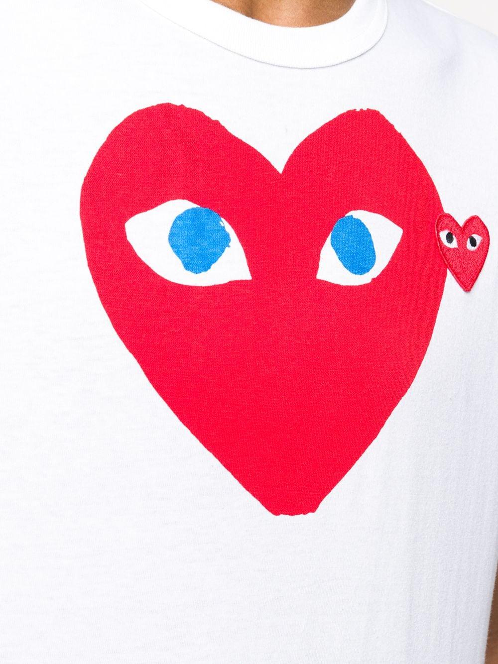 PLAY T-SHIRT COMME DES GARÇONS PLAY   T-shirts   P1T0861