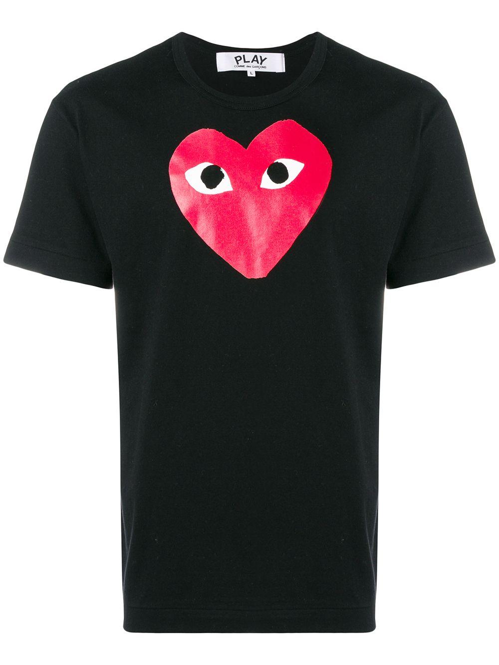 Comme Des Garçons Play play t-shirt unisex COMME DES GARÇONS PLAY | T-shirts | P1T1121