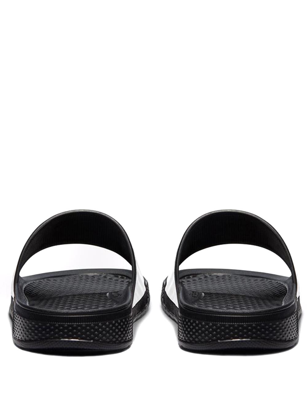 telfar slide man black in rubber CONVERSE X TELFAR | Sandals | 172316CBWR