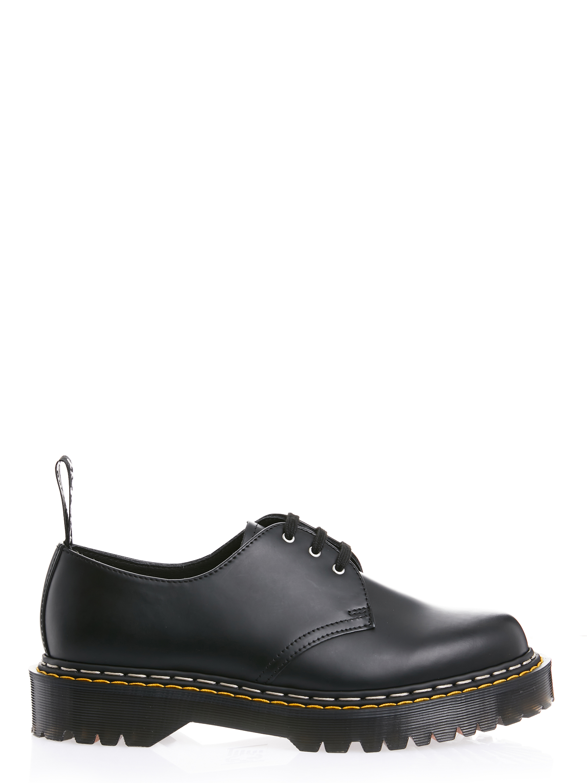Bex sole lace up shoes man black DR. MARTENS X RICK OWENS | Laced Shoes | DM21S6805 600109