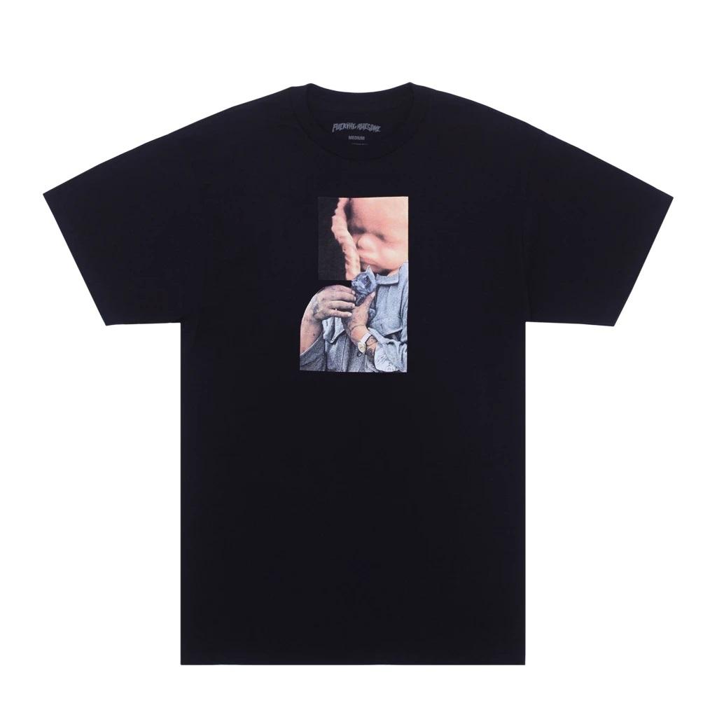 Fucking Awesome t-shirt con stampa uomo FUCKING AWESOME | T-shirt | P707069BLACK