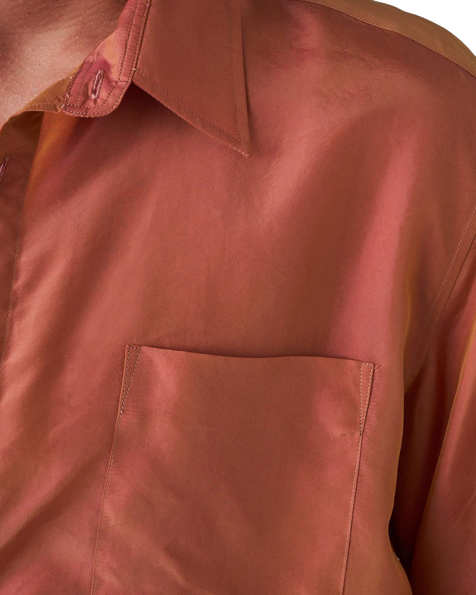 Camicia Cangiante Arancione Uomo GRIFONI | Camicie | GI120022/101900
