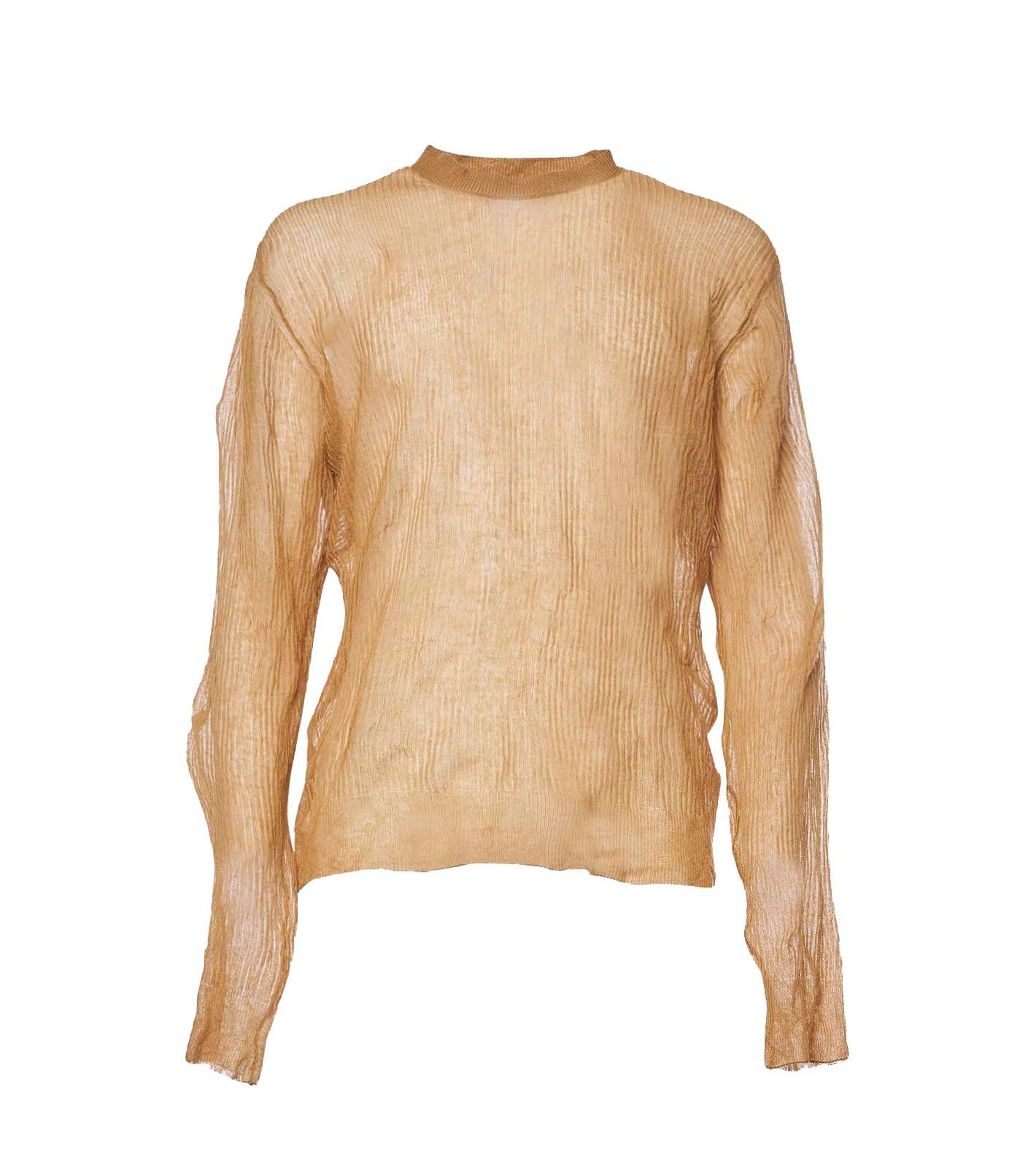 Grifoni sweater roundneck man beige GRIFONI | Sweaters | GI310019522
