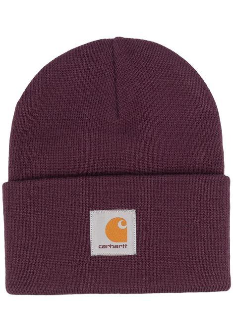 Carhartt Wip cappello con logo uomo vino CARHARTT WIP | Cappelli | I0202220E8.00