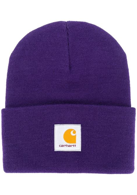 Carhartt WIp cappello con logo uomo viola CARHARTT WIP | Cappelli | I0202220F1.00