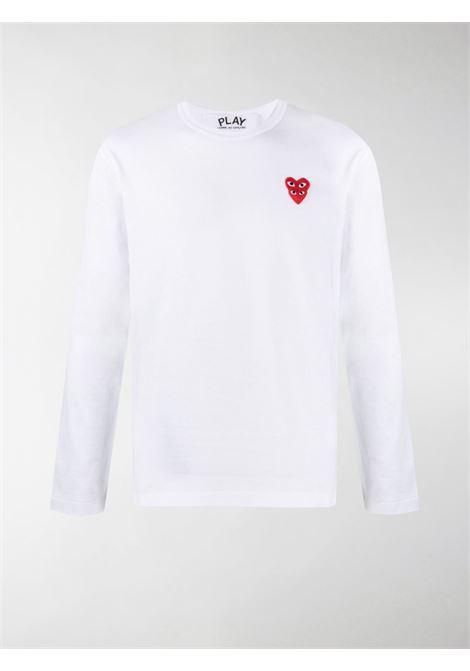 Comme Des Garçons Play t-shirt man COMME DES GARÇONS PLAY | T-shirts | P1T2922