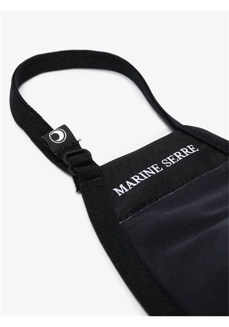 mascherina con logo unisex nero MARINE SERRE | Mascherine | A059ICONX622-0