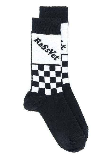 LOGO SOCKS RASSVET | Socks | PACC7009BLACK