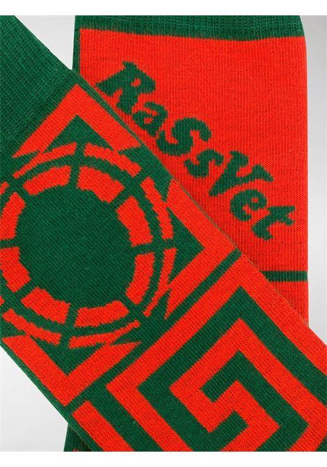 CALZINI CON LOGO RASSVET | Calzini | PACC7009GREEN
