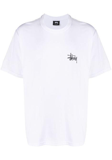 LOGO T-SHIRT STUSSY | T-shirts | 1904567WHITE