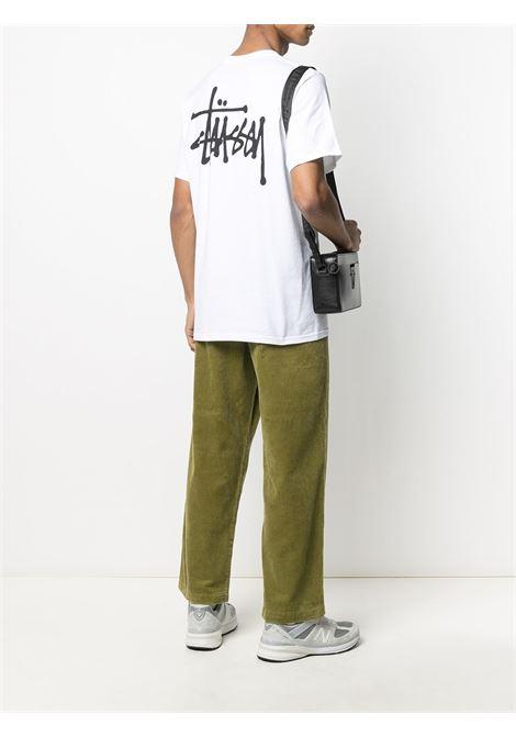 LOGO T-SHIRT STUSSY | T-shirts | 1904615WHITE
