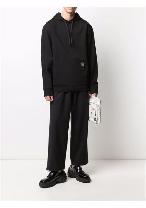 hoodie man black in viscosa 1017 ALYX 9SM | Sweatshirts | AAMSW0033FA04BLK0001