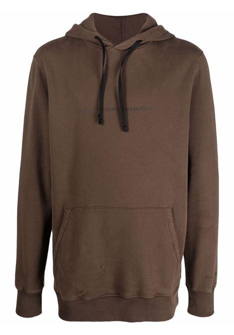 infared sweatshirt man brown in cotton 1017 ALYX 9SM | Sweatshirts | AAMSW0111FA01BRW0003