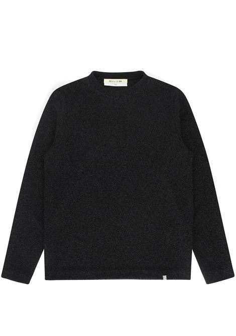shimmer crewneck man black 1017 ALYX 9SM | Sweaters | AAMSW0113FA01BLK001