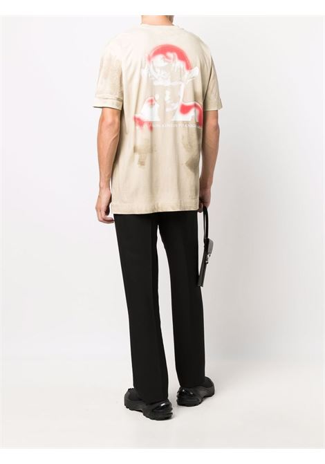 t-shirt whit print man beige in cotton 1017 ALYX 9SM | T-shirts | AAMTS0250FA01BEG0010