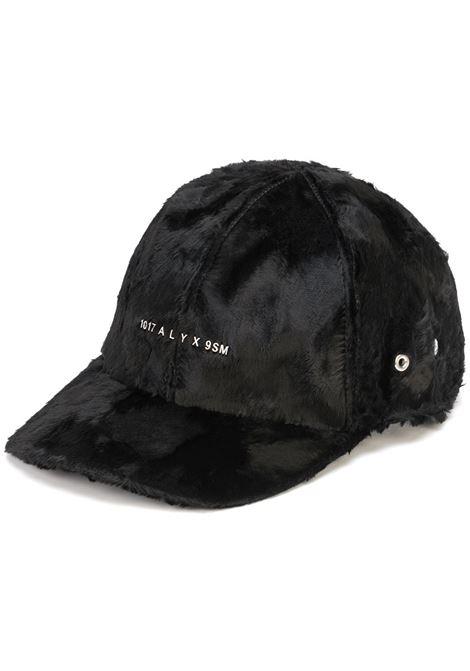 logo hat man black in lambskin 1017 ALYX 9SM | Hats | AAUHA0056FA01BLK001