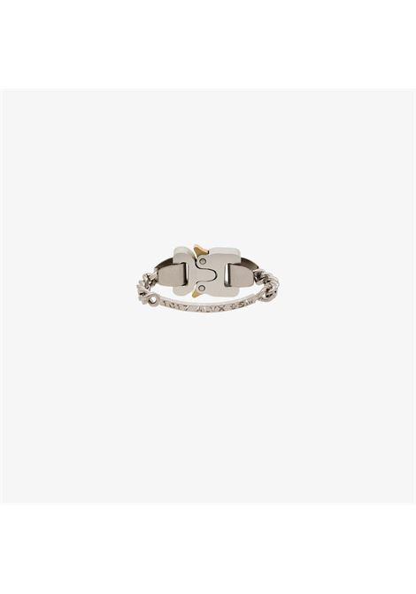 bracciale con cinturino uomo argento 1017 ALYX 9SM | Gioielli | AAUJW0034OT02GRY0002