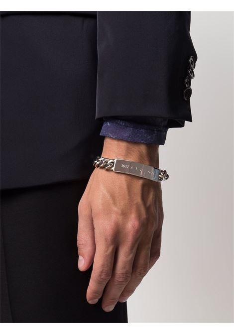 logo bracelet man silver 1017 ALYX 9SM | Jewellery | AAUJW0119OT01GRY0002