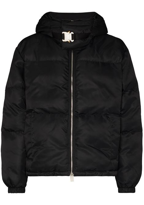hooded puffer jacket man black 1017 ALYX 9SM | Jackets | AAUOU0238FA01BLK0001
