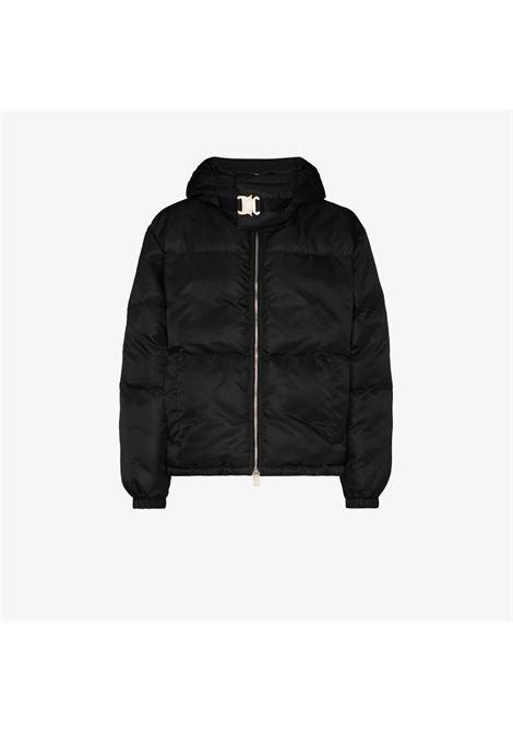 giacca con cappuccio uomo nero 1017 ALYX 9SM | Giacche | AAUOU0238FA01BLK0001