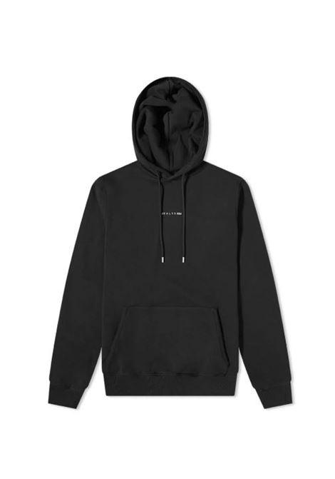 logo hoodie man black in cotton 1017 ALYX 9SM | Sweatshirts | AVUSW0009FA02BLK001