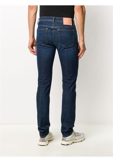 jeans skinny uomo denim in cotone bio ACNE STUDIOS | Jeans | B00160DARK BLUE