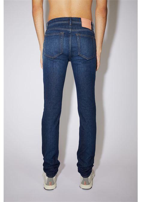 skinny jeans man denim in organic cotton ACNE STUDIOS | Jeans | B00160DARK BLUE