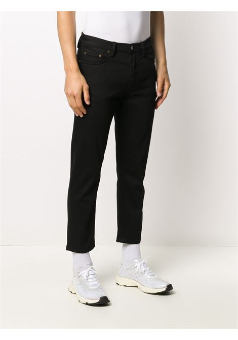 jeans river stay uomo neri in cotone ACNE STUDIOS | Jeans | B00175BLACK