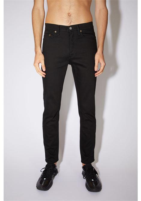 jeans river stay uomo neri in cotone ACNE STUDIOS   Jeans   B00175BLACK