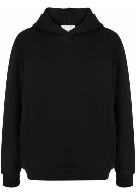 hoodie man black in cotton ACNE STUDIOS | Sweatshirts | BI0140BLACK