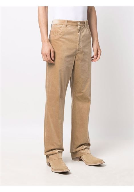 pantaloni svasati uomo beige in cotone ACNE STUDIOS | Pantaloni | BK0402CLAY BEIGE