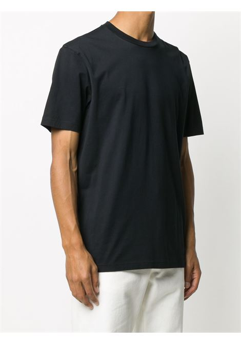 t-shirt in cotone uomo nera ACNE STUDIOS | T-shirt | BL0230BLACK