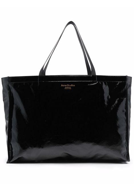 oversize tote bag unisex black ACNE STUDIOS | Bags | C10103C10103BLACK