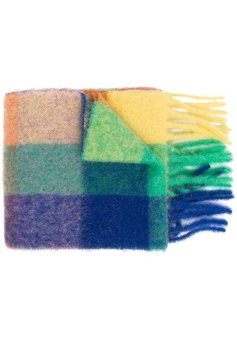 sciarpa a quadri unisex multicolore ACNE STUDIOS | Sciarpe | CA0084BLUE