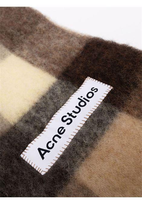 vally check scarf unisex multicolor ACNE STUDIOS |  | CA0084BROWN