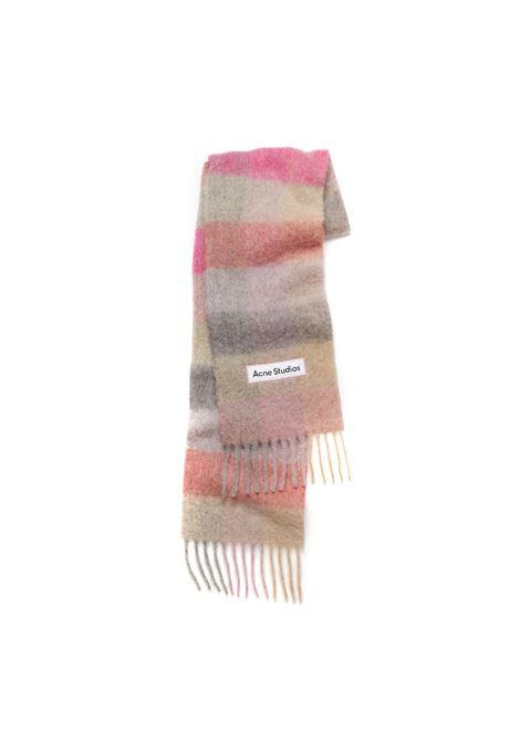 striped scarf unisex multicolor ACNE STUDIOS |  | CA0084FUCHSIA