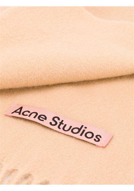 sciarpa canada new unisex beige in lana ACNE STUDIOS | Sciarpe | CA0102CARAMEL BROWN