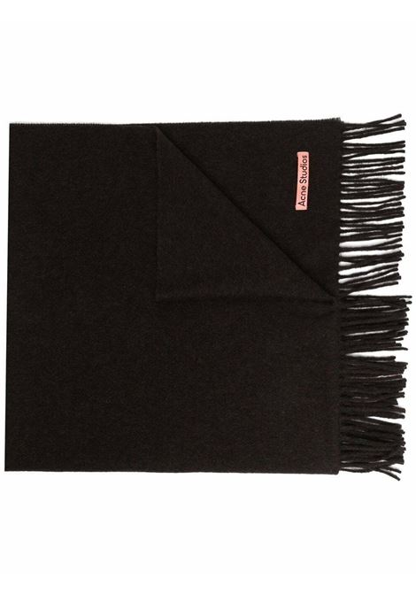 canada new scarf unisex brown in wool ACNE STUDIOS |  | CA0102CHOCOLATE