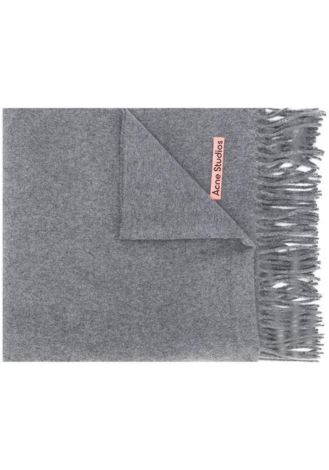 canada new scarf unisex gray in wool ACNE STUDIOS |  | CA0102GREY