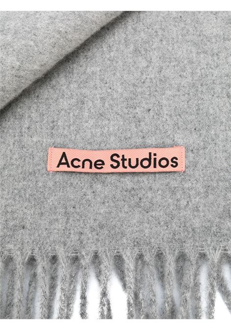 canada new scarf unisex light gray in wool ACNE STUDIOS |  | CA0102LIGH GREY