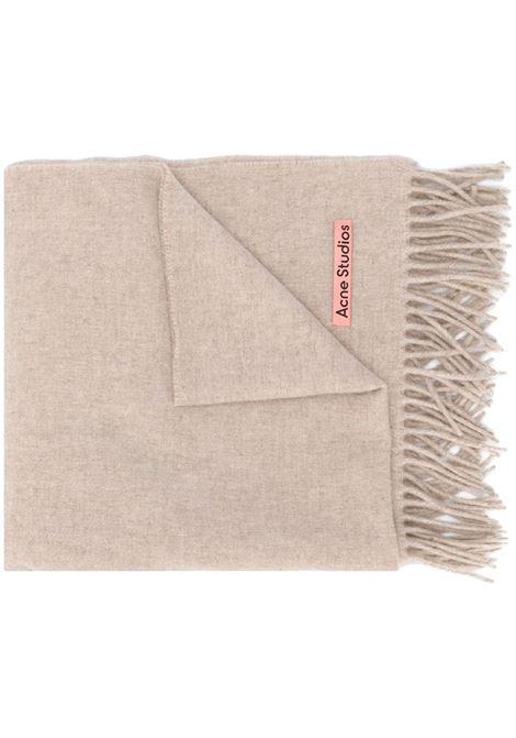 sciarpa canada new unisex melange in wool ACNE STUDIOS | Sciarpe | CA0102OATMEAL