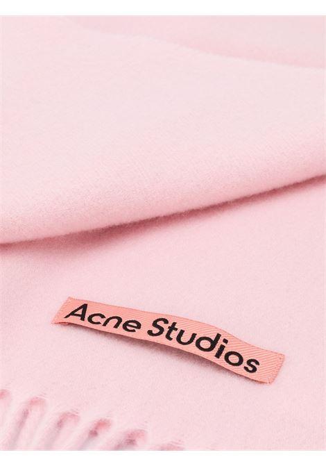sciarpa canada new unisex rosa in lana ACNE STUDIOS | Sciarpe | CA0102ROSE MELANGE