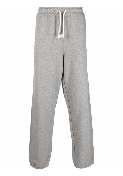 sweatpants unisex gray in cotton ACNE STUDIOS | Trousers | CK0038LIGHT GREY MELANGE