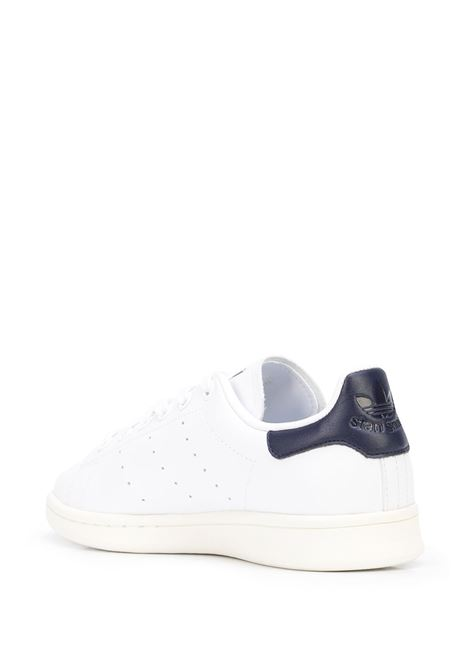 stan smith sneakers man white in leather ADIDAS | Sneakers | FX5521WHITE